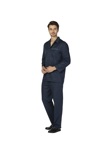 D'S Damat Ds Damat Lacıvert Pijama Takımı Lacivert